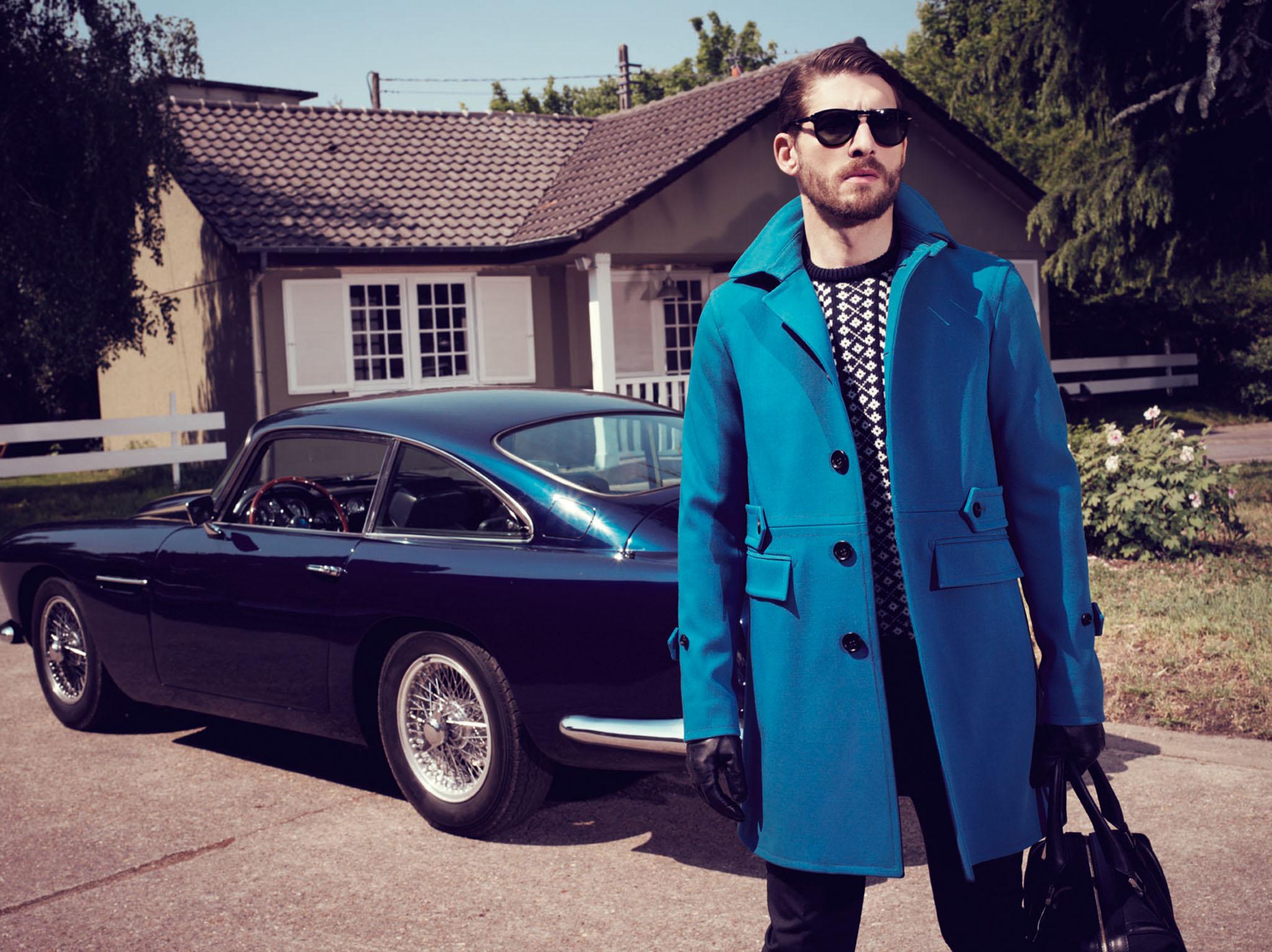 PRINTEMPS Catalogue Homme Style et Savoir-Faire Mode Homme Burberry Raf Simons