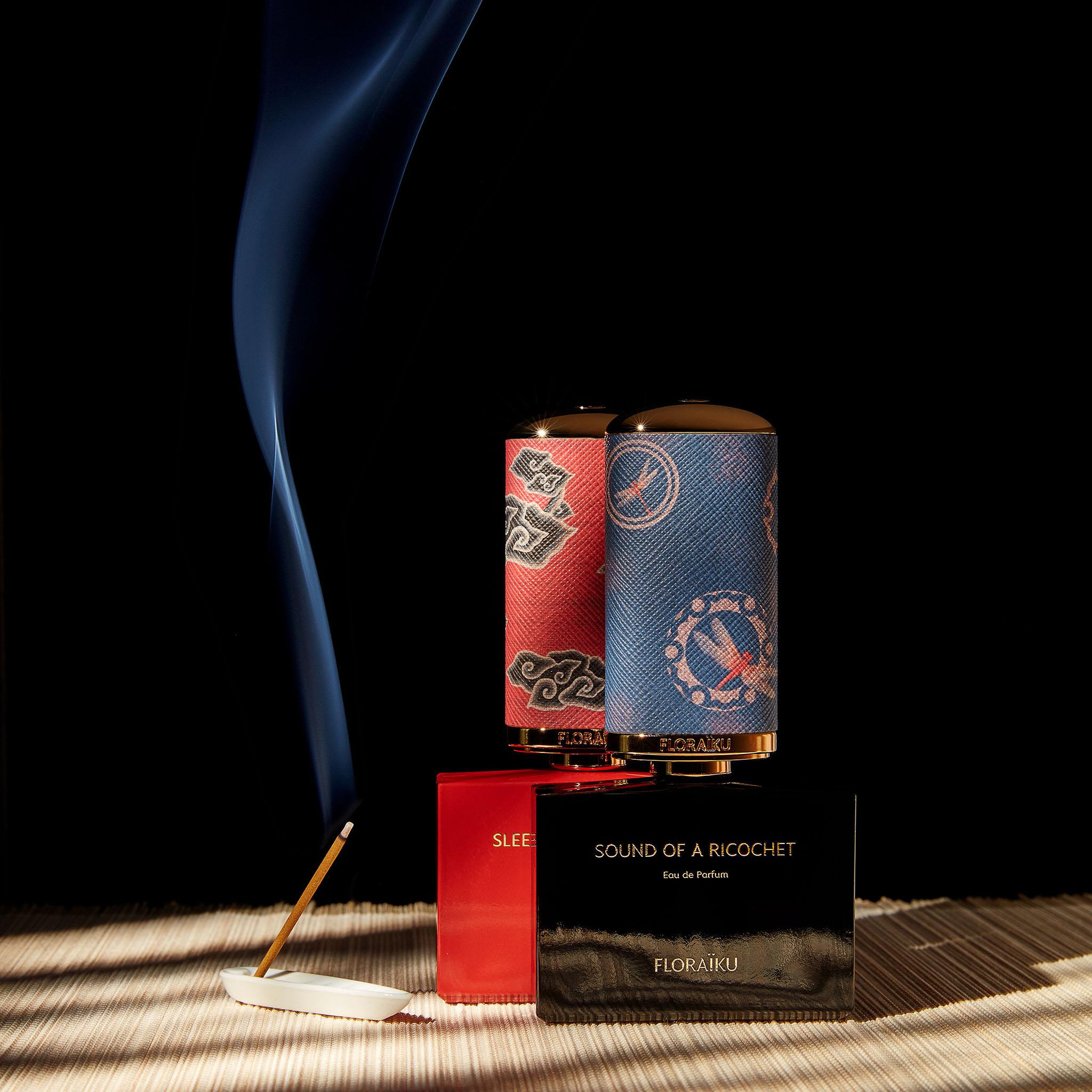 FLORAÏKU Brand Content. Parfum Japon Instagram Photos Sound of a Ricochet
