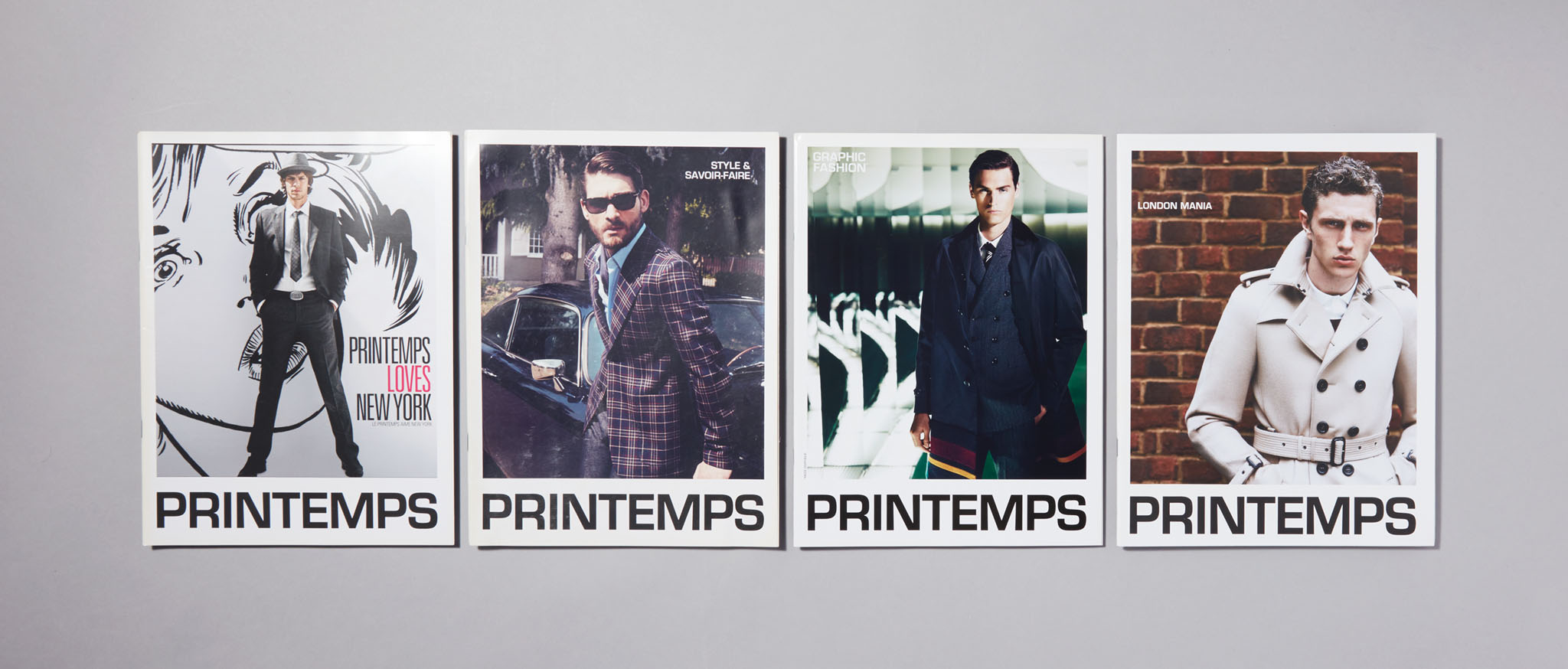 PRINTEMPS Catalogues Homme