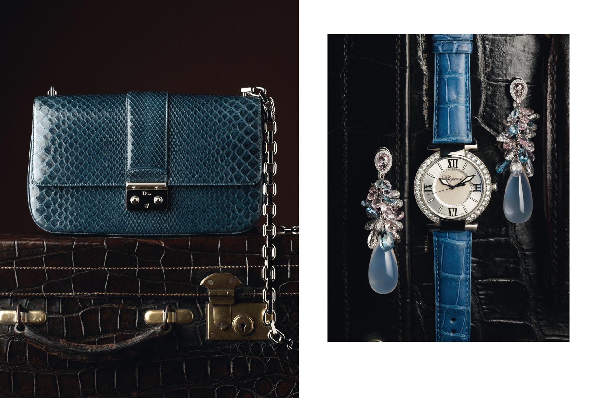 PRINTEMPS Catalogue Noël. Voyage de Luxe. Accessoires Horlogerie Joaillerie Piaget Maroquinerie Dior