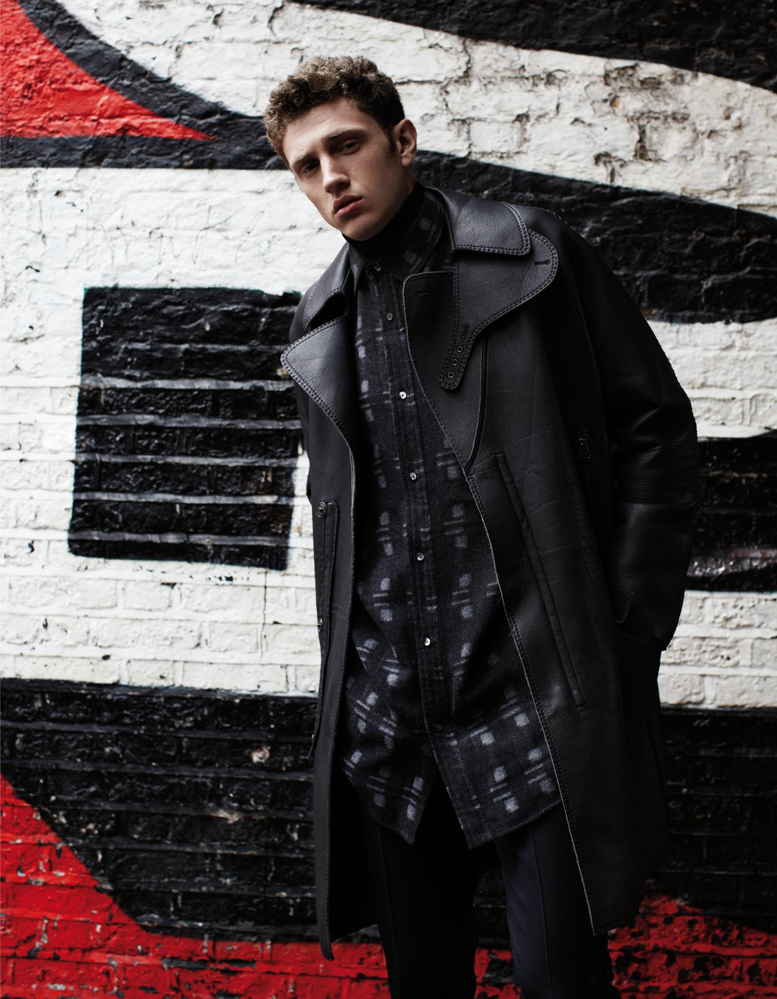 PRINTEMPS Catalogue Homme London Mania. Mode Homme Lanvin, Alexander Wang, Melinda Gloss