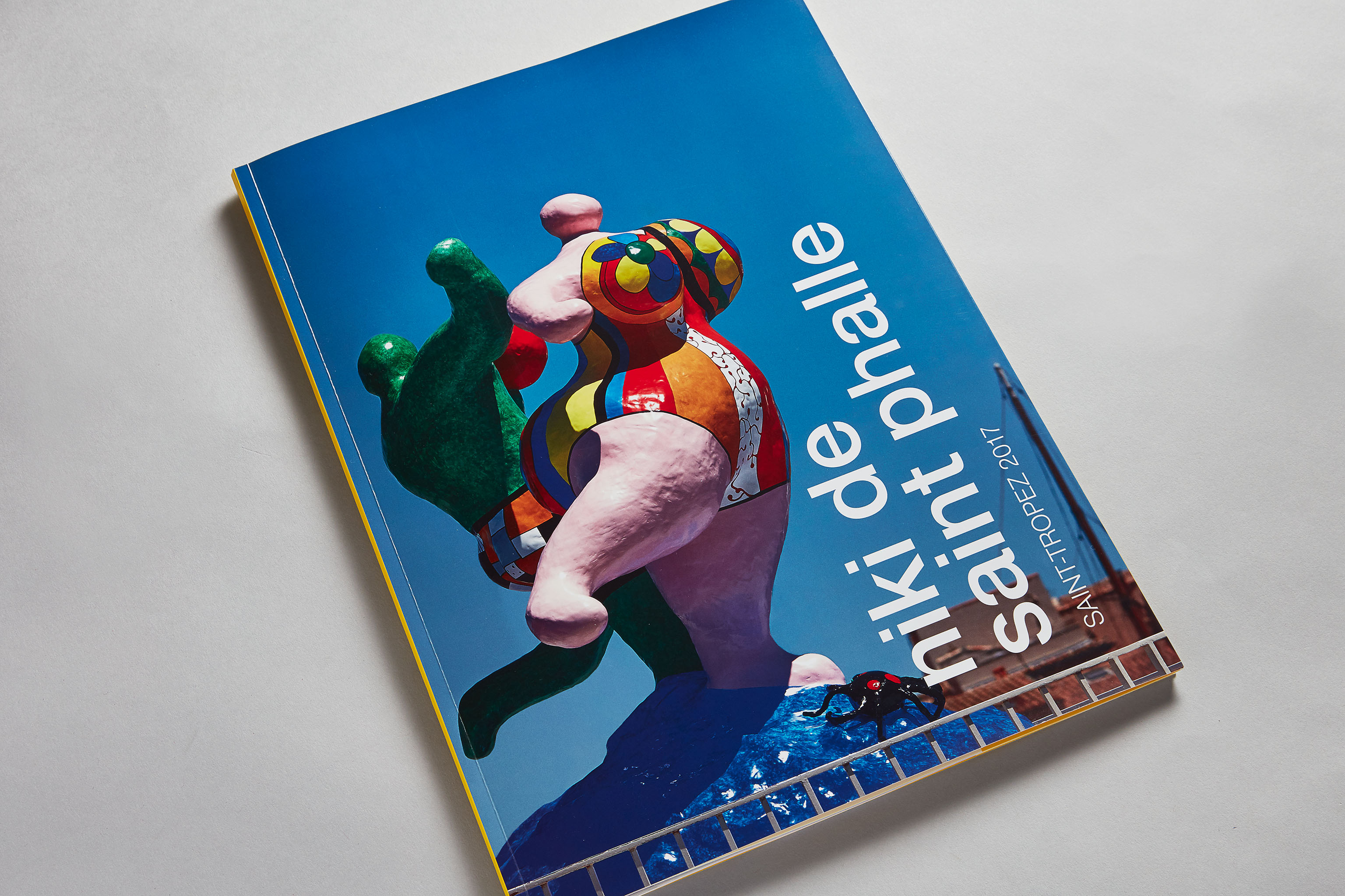 GALERIE MITTERRAND Catalogue Niki de Saint Phalle. Exposition Saint-Tropez. Art contemporain