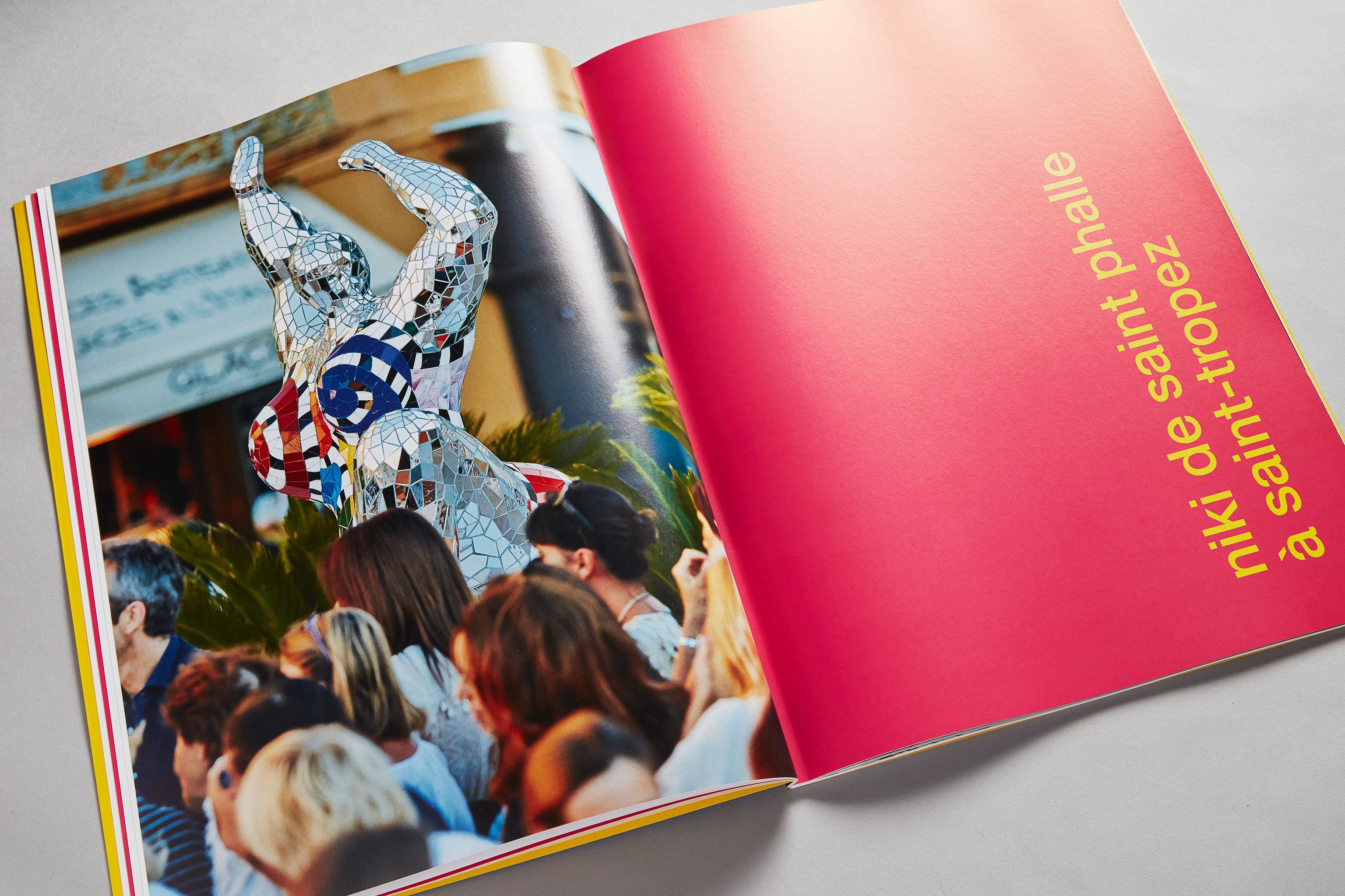 GALERIE MITTERRAND Catalogue Niki de Saint Phalle. Exposition Saint-Tropez. Art contemporain