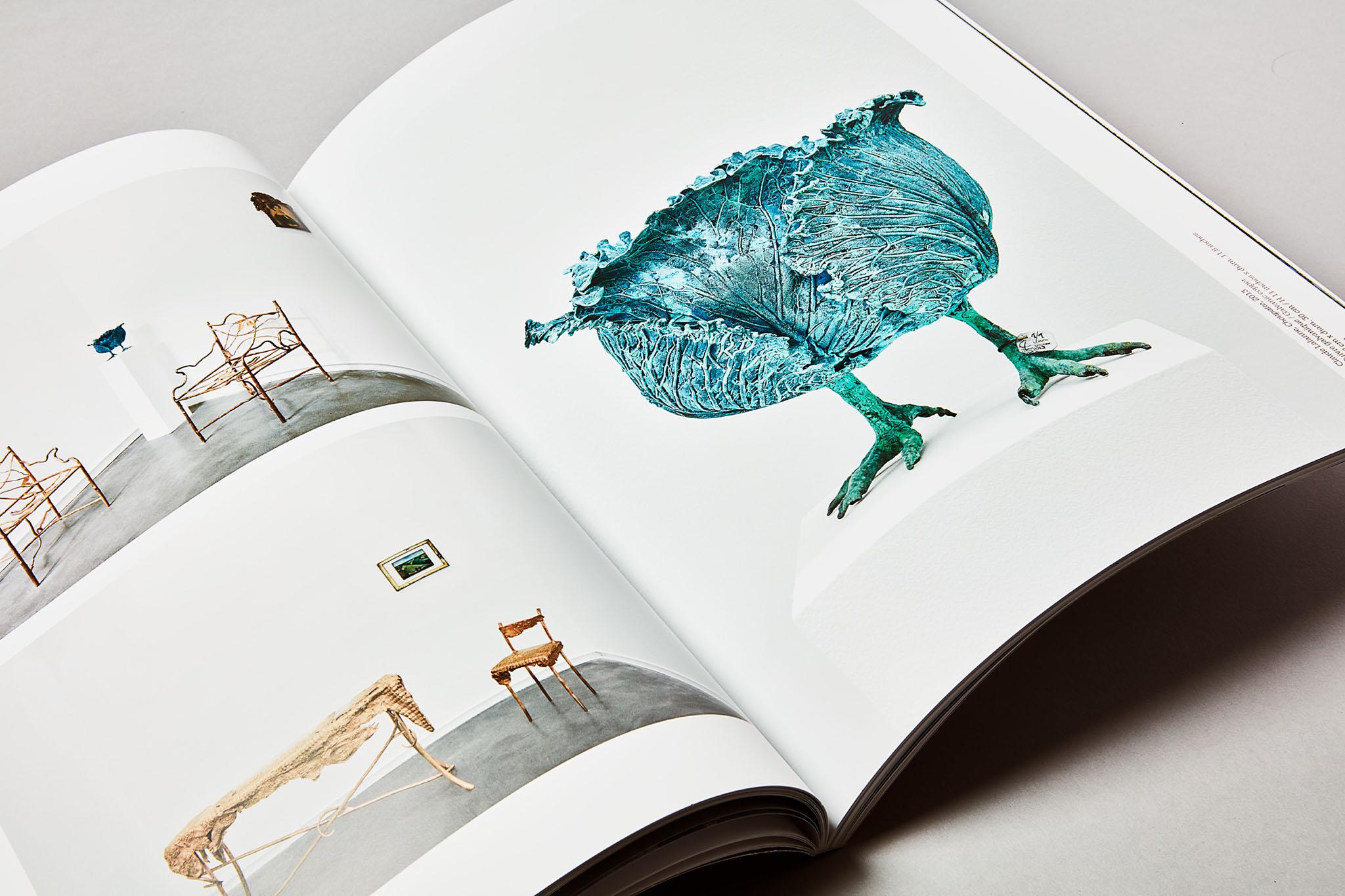 GALERIE MITTERRAND Catalogue Lalanne. Art contemporain Sculpture Claude Lalanne François-Xavier Lalanne Tête de Choux