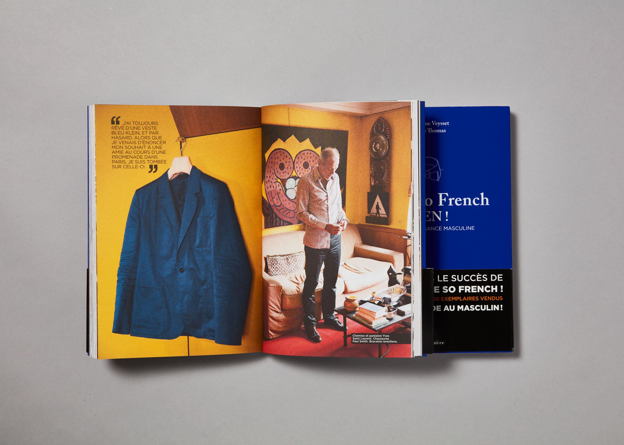 You're so French MEN! Livre Editions de La Martinière Frédérique Veyset