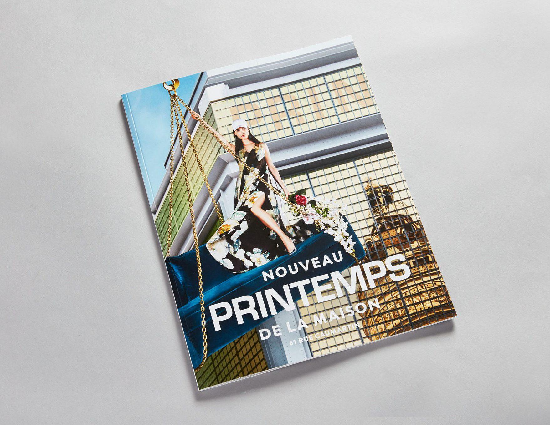 PRINTEMPS Catalogue Maison 2017 Déco Décoration Design Icône Mobilier Printemps Haussmann