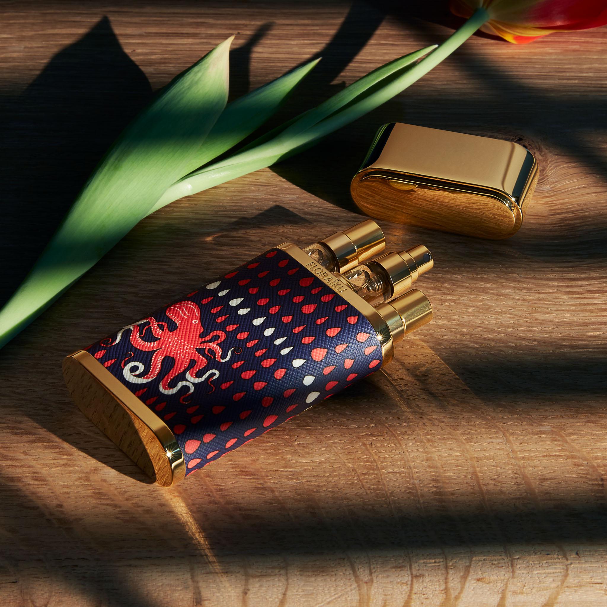 FLORAÏKU Brand Content. Parfum Japon Instagram Photos Octopus
