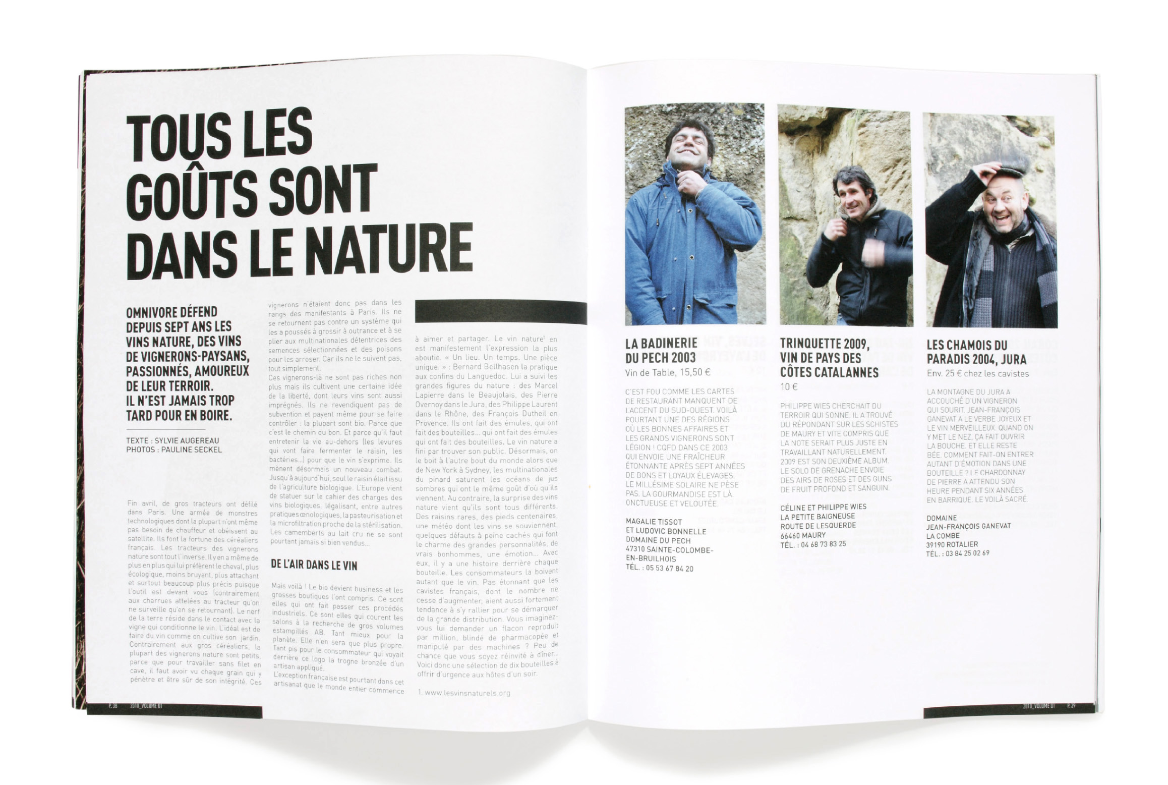 OMNIVORE Magazine Edition Print Food Fooding
