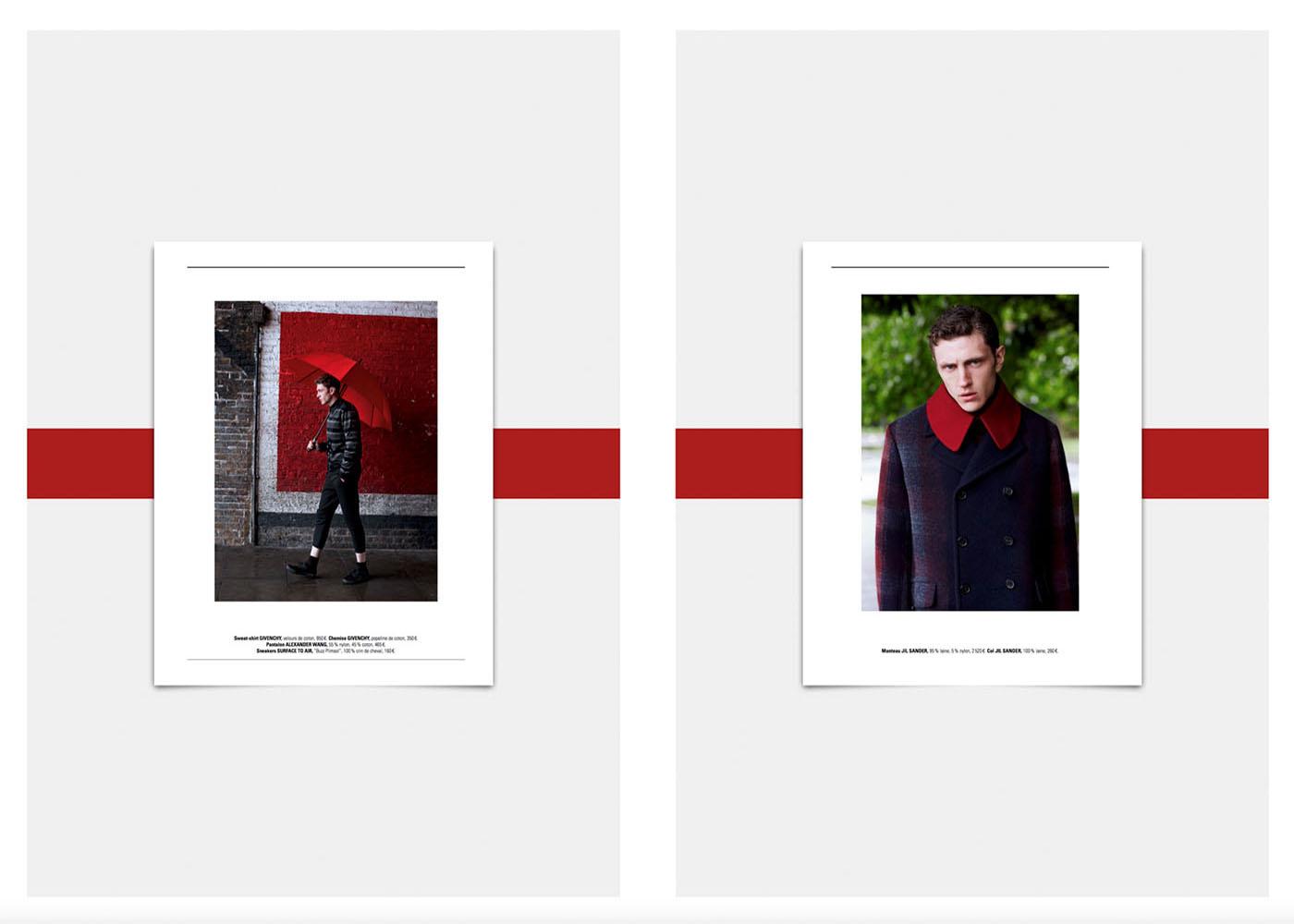 PRINTEMPS Catalogue Homme London Mania. Mode Homme Givenchy, Alexander Wang, Lanvin, Melinda Gloss