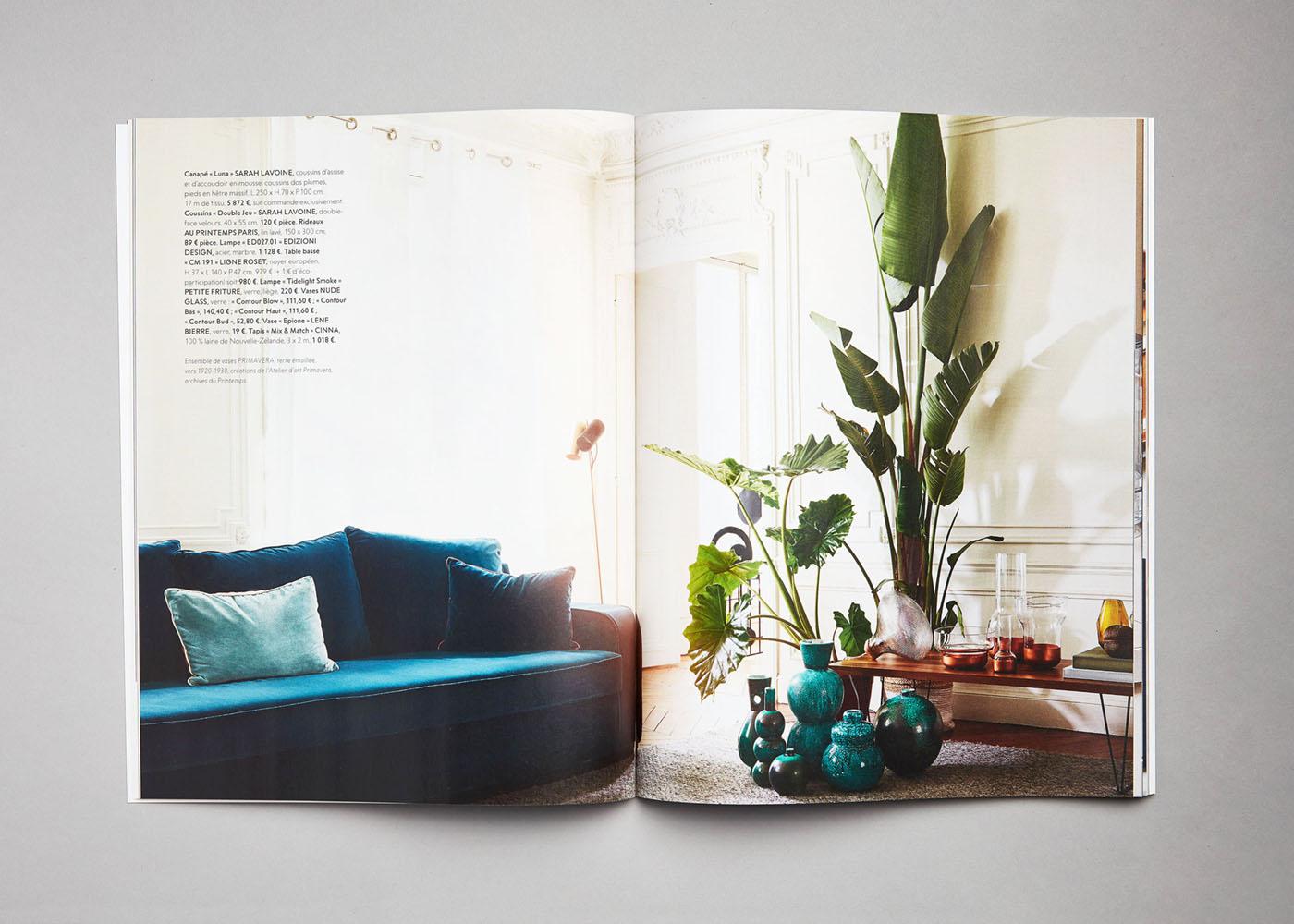PRINTEMPS Catalogue Maison 2017 Déco Décoration Design Icône Mobilier Printemps Haussmann Sarah Lavoine Edizioni Design Cinna Nude Glass