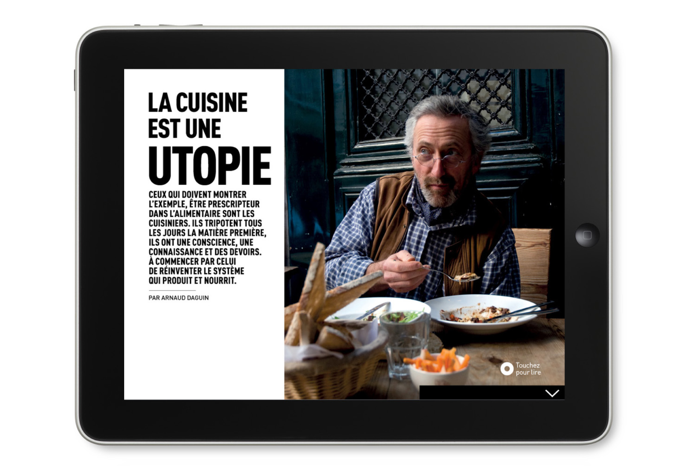 OMNIVORE Guide version Tablette Adaptation iPad