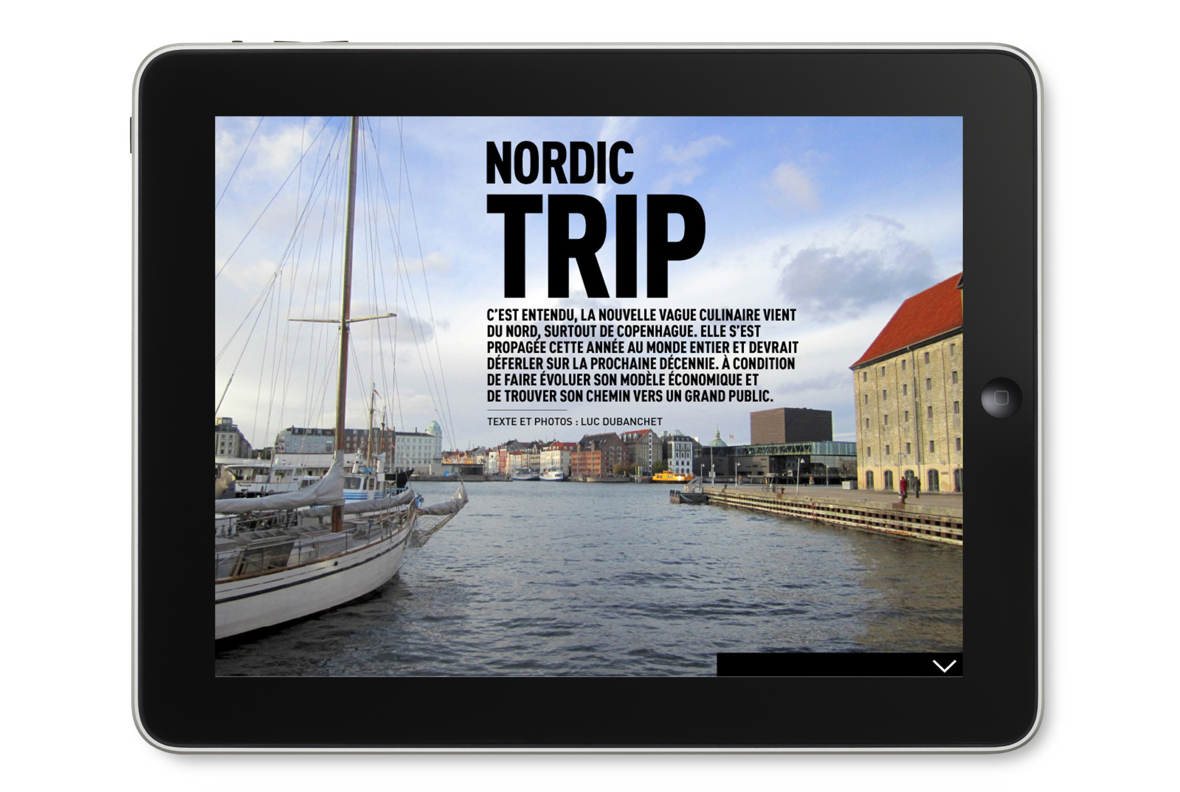 OMNIVORE Guide version Tablette Adaptation iPad