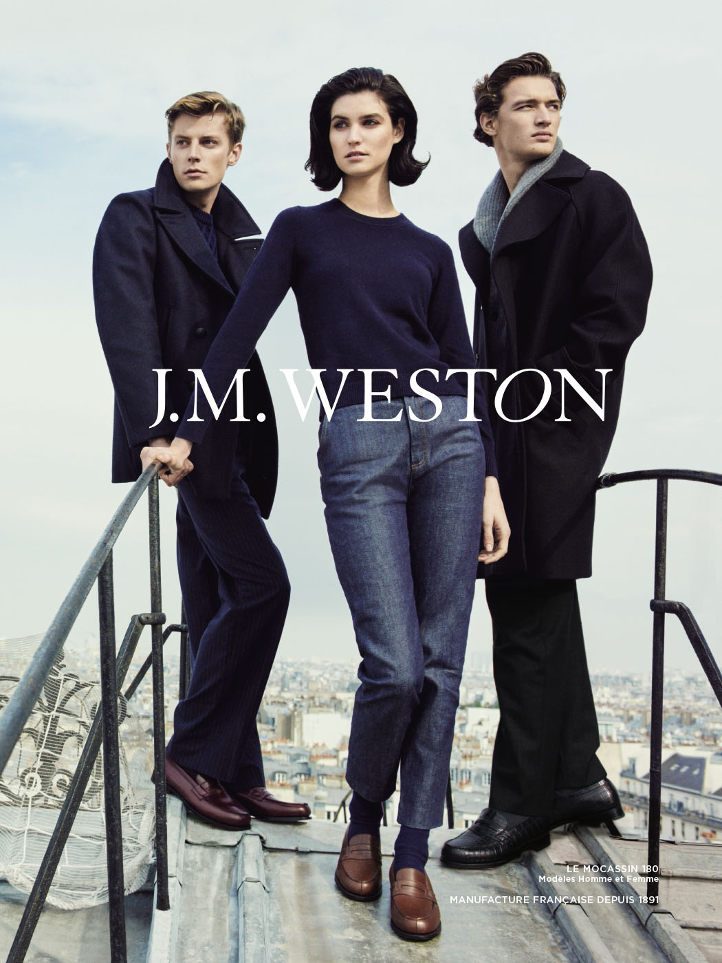 J.M. WESTON Le Moc' 2016. Mocassin Manufacture française Made in France Campagne