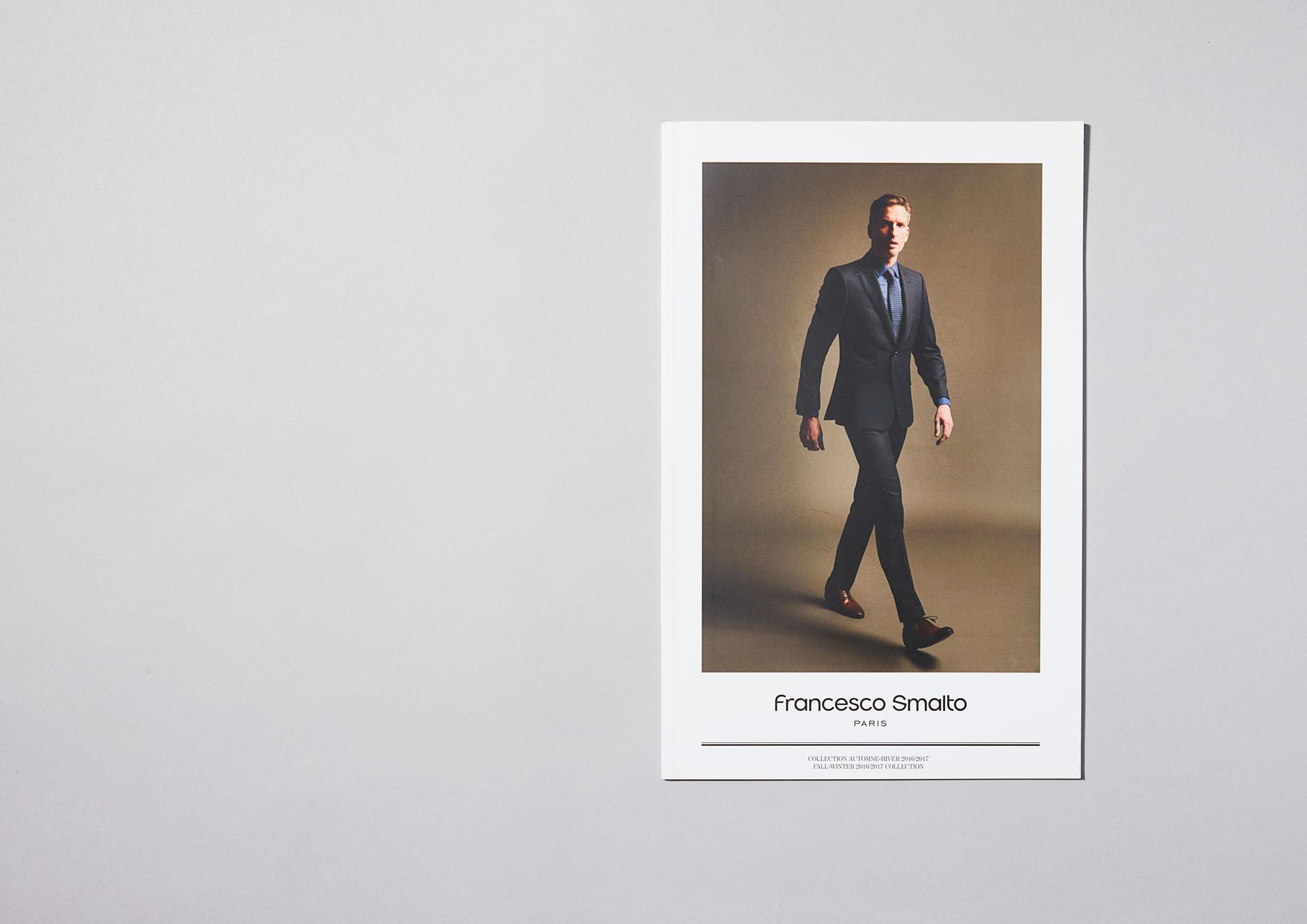 SMALTO Catalogue Savoir-Faire. Mode Homme. Costume. Sur-mesure