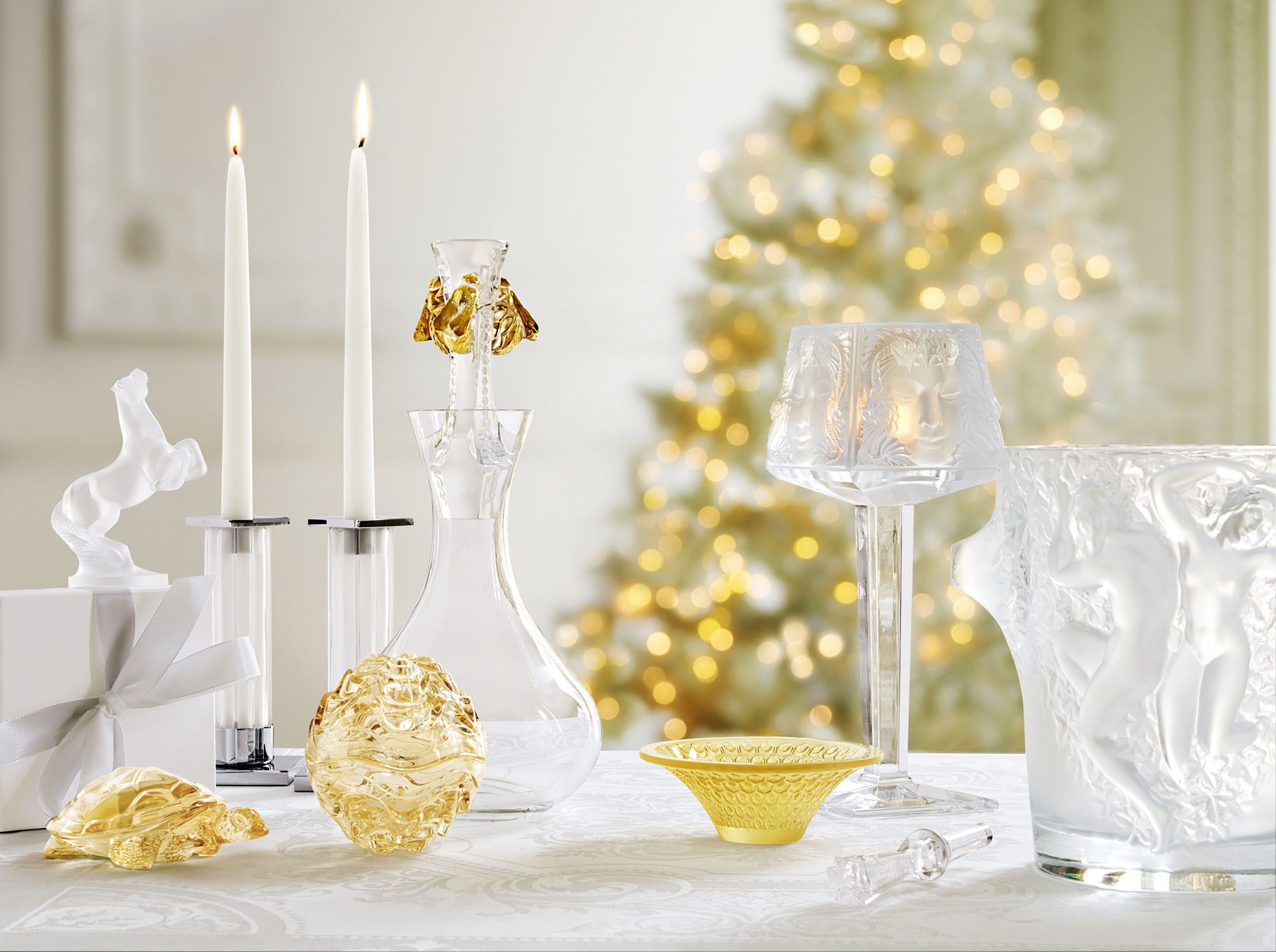 LALIQUE Catalogue Noël. Crystal