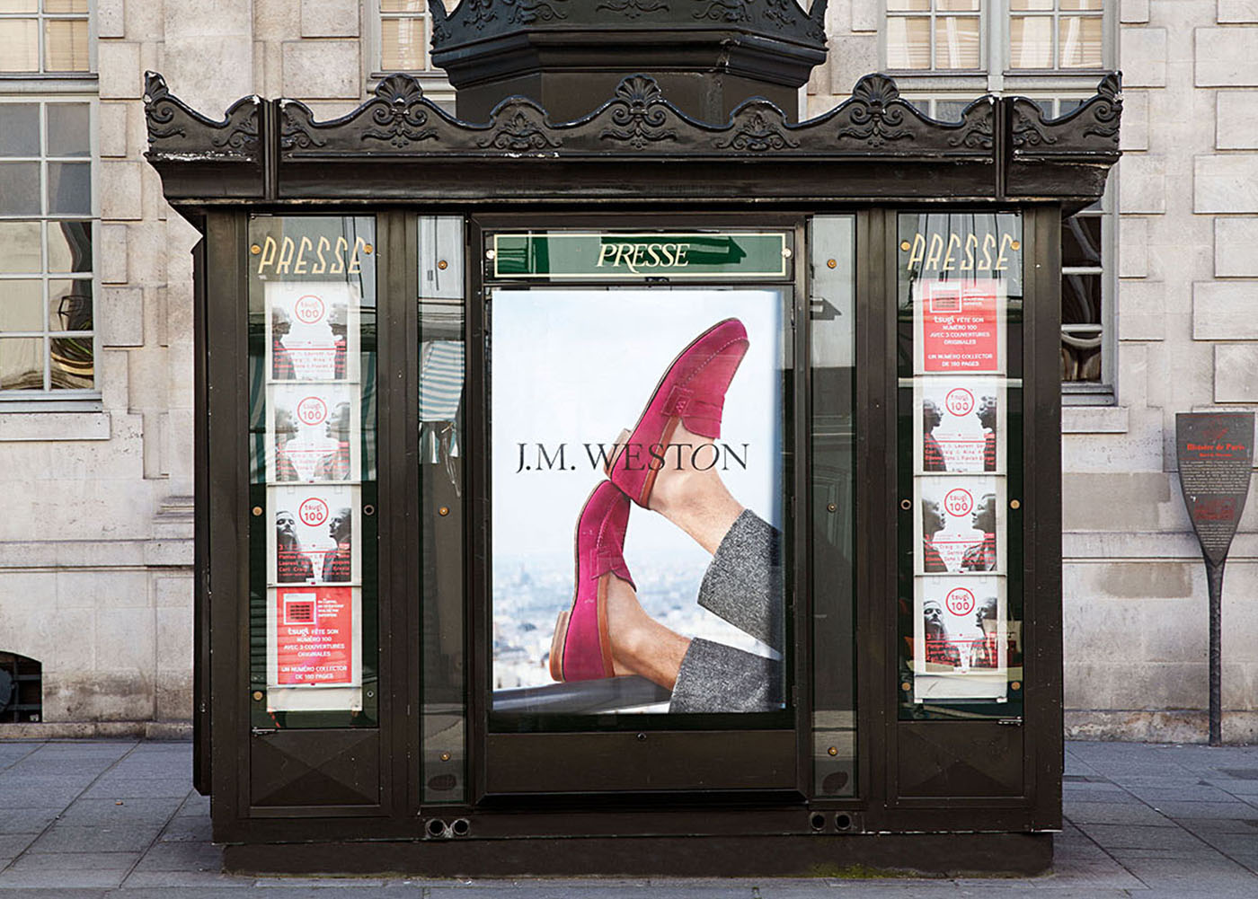J.M. WESTON Le Moc' 2017. Mocassin Manufacture française Made in France Campagne