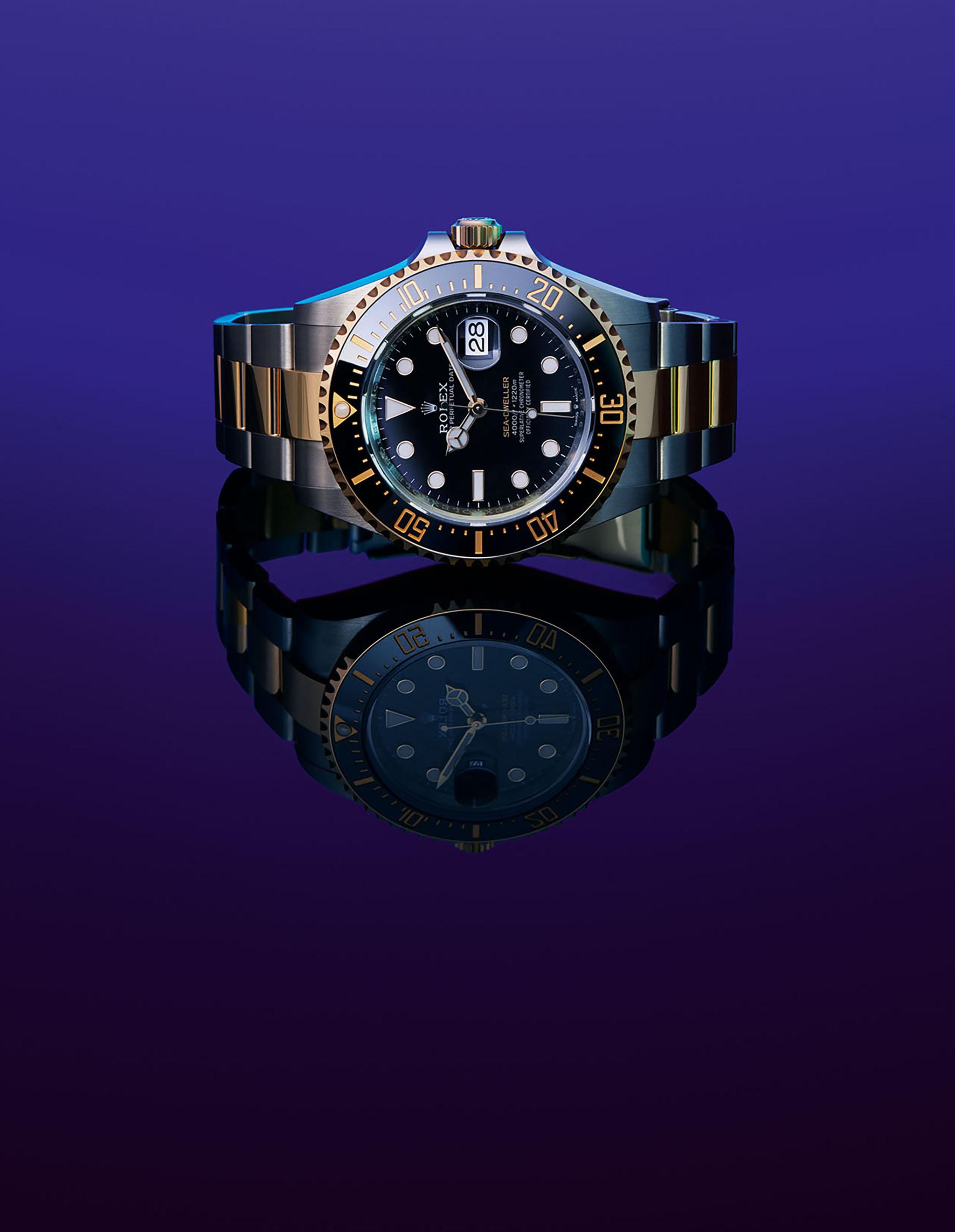 Printemps de l'homme Rolex