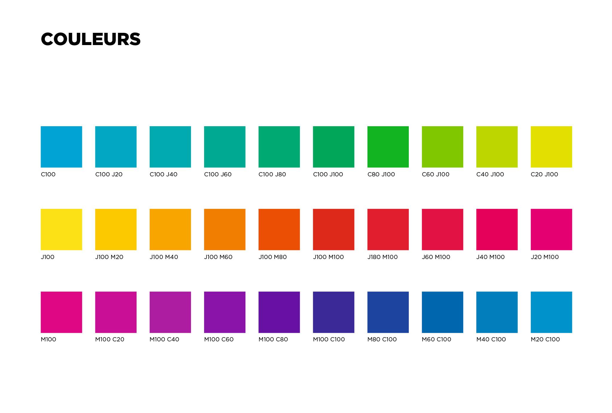 Charte couvertures éditions du Dauphin