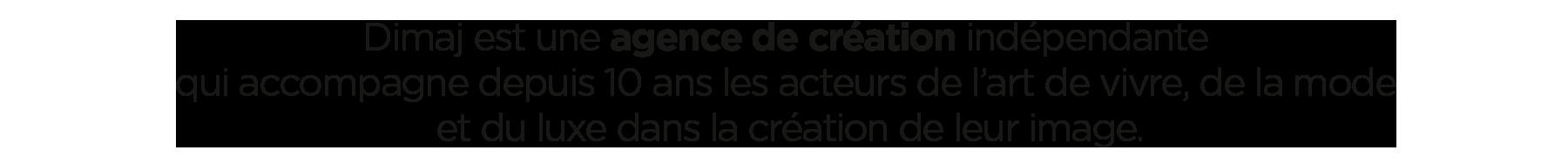 Dimaj agence de création