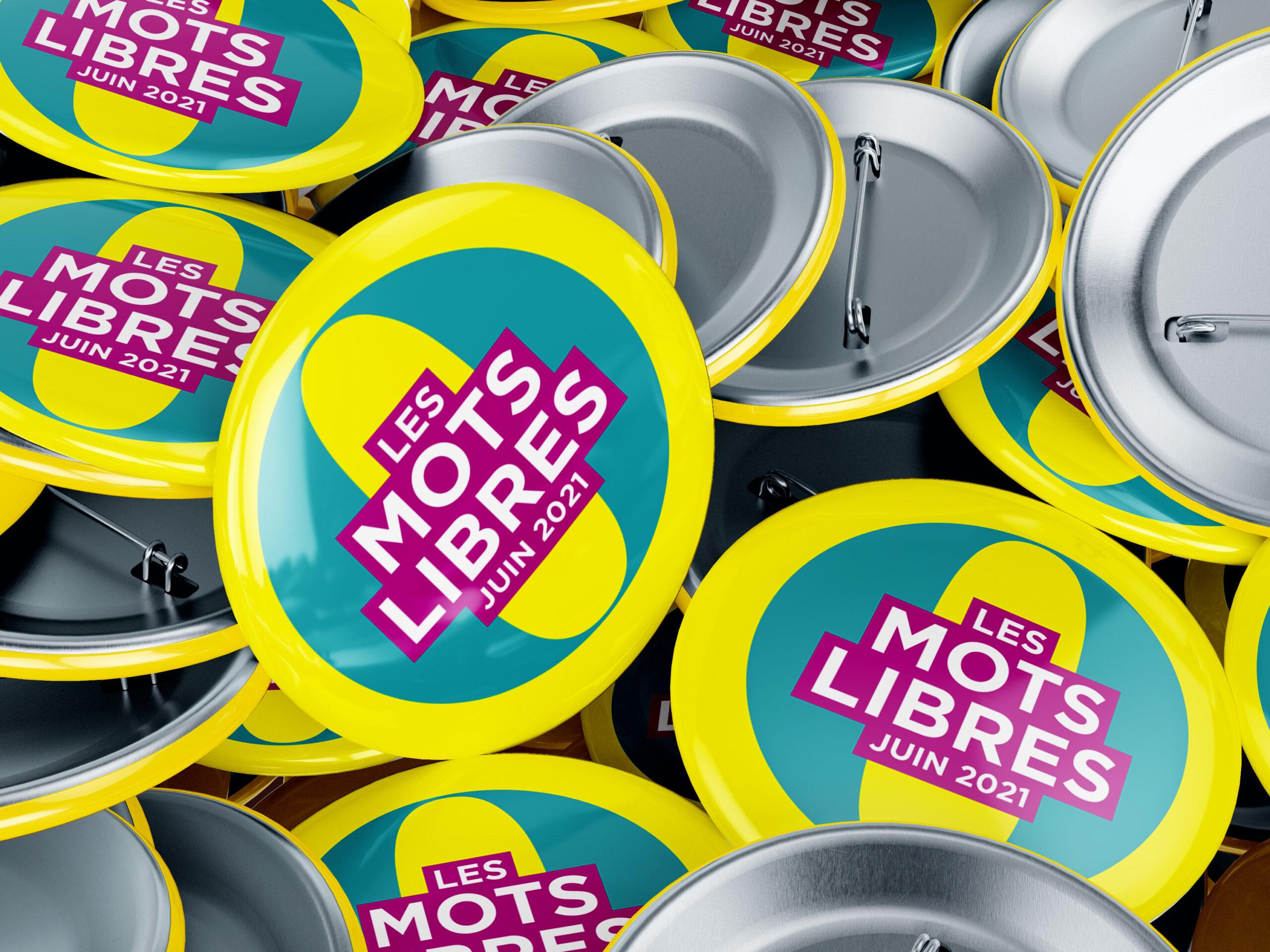 Badges Les Mots libres 2021