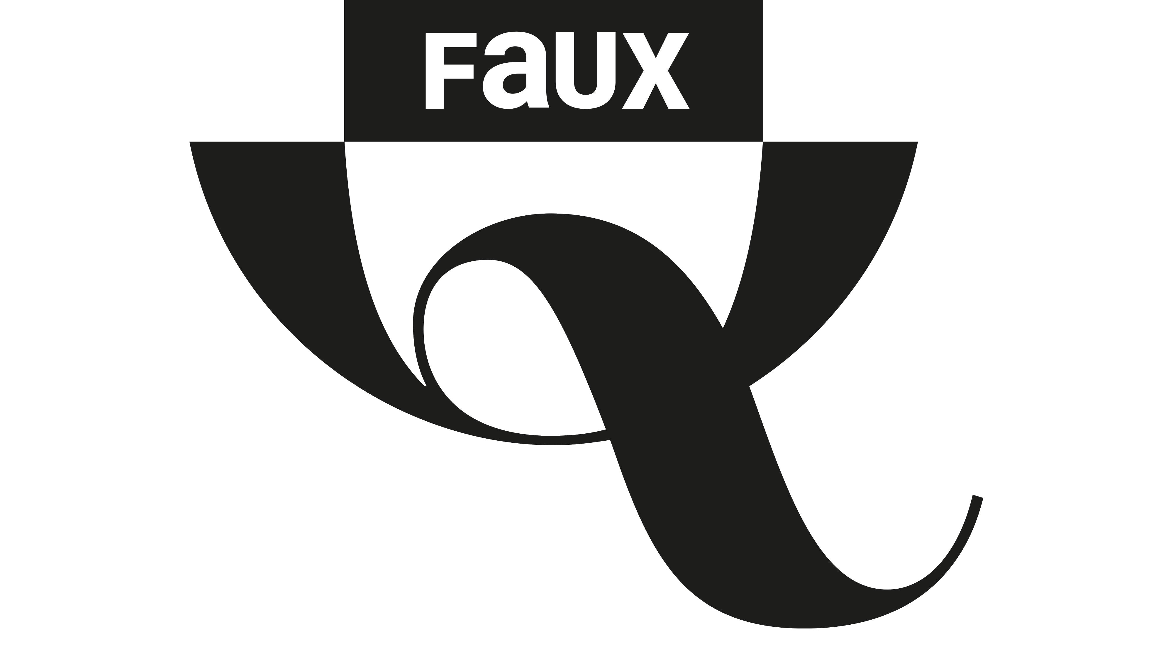 Nouveau logo Faux Q magazine